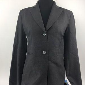 Banana Republic Jacket Size 2 Blazer Gray
